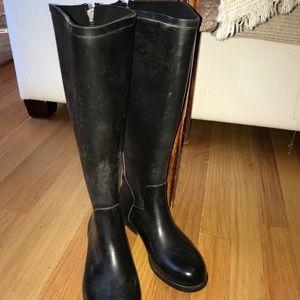 JCrew Rubber Boots